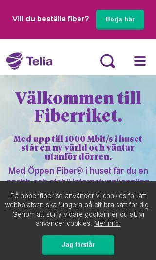 telia fiber bredbandswebben