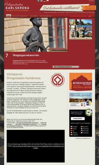 Mobile preview of orlogsstadenkarlskrona.se