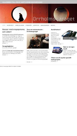 Mobile preview of orrholmsgaraget.nu