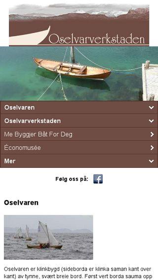 Mobile preview of oselvarverkstaden.no
