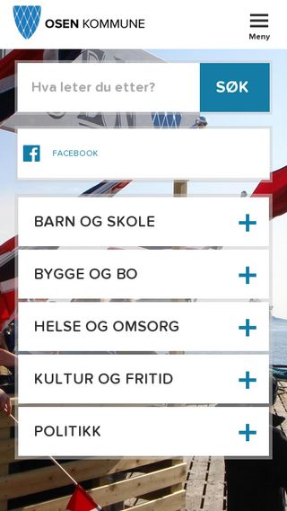 Mobile preview of osen.kommune.no