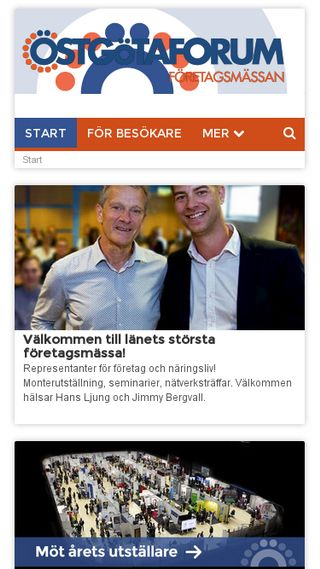 Mobile preview of ostgotaforum.se