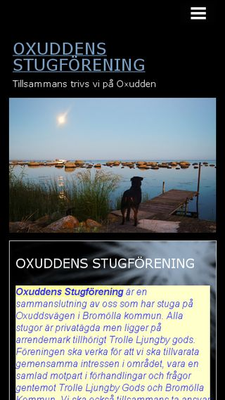 Mobile preview of oxudden.n.nu