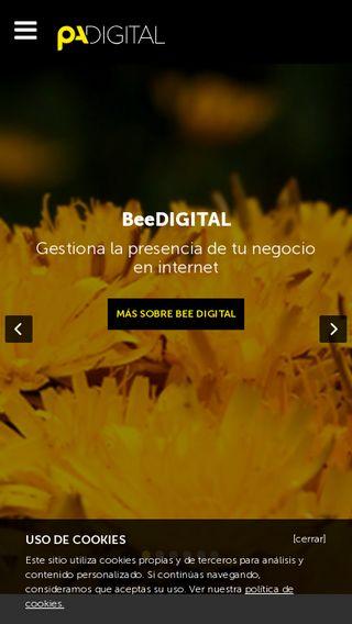 Mobile preview of padigital.es