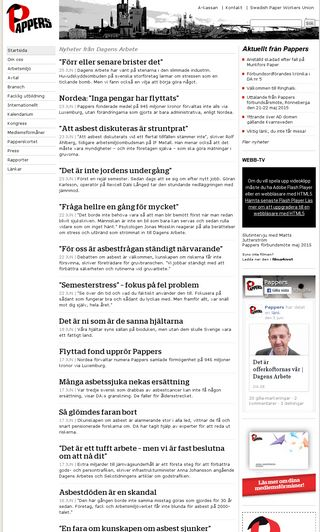 Mobile preview of pappersavd50.se