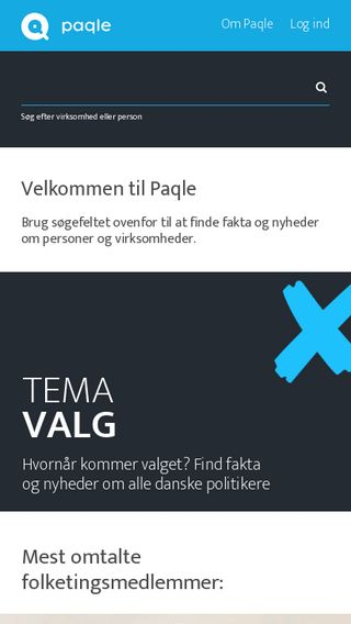 Mobile preview of paqle.dk