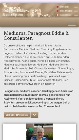Mobile preview of paragnost-eddie.nl