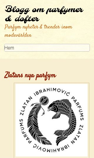 Mobile preview of parfymerna.se