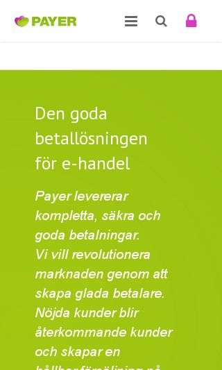 Mobile preview of payer.se