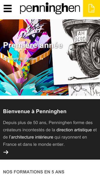 Mobile preview of penninghen.fr