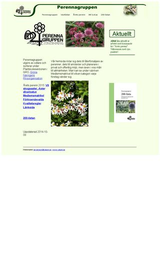 Mobile preview of perennagruppen.com