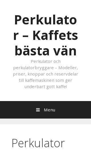 Mobile preview of perkulator.nu