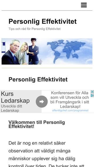 Mobile preview of personligeffektivitet.info