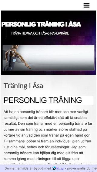 Mobile preview of personligtraning.n.nu