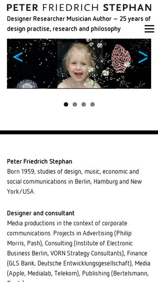 Mobile preview of peterstephan.org