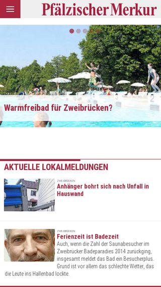Mobile preview of pfaelzischer-merkur.de