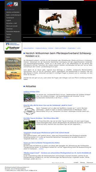 Mobile preview of pferdesportverband-sh.de