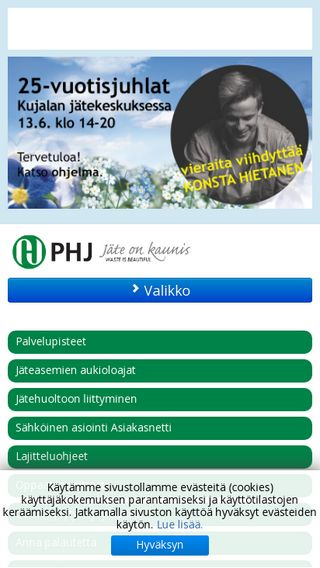 Mobile preview of phj.fi