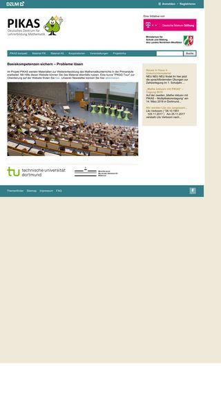 Mobile preview of pikas.dzlm.de