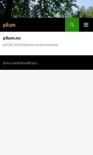 Mobile preview of pilum.nu