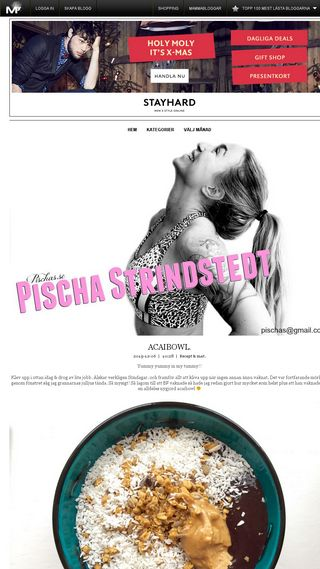 Mobile preview of pischas.myshowroom.se