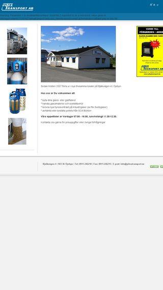 Mobile preview of piteatransport.se
