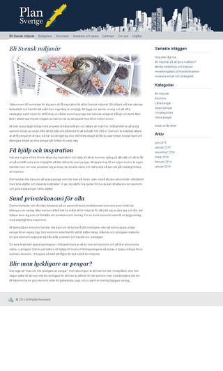 Mobile preview of plansverige.se