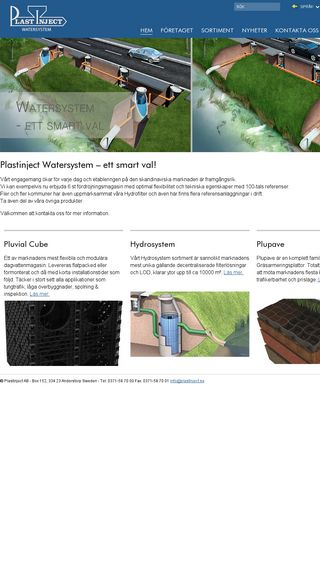 Mobile preview of plastinjectwatersystem.se