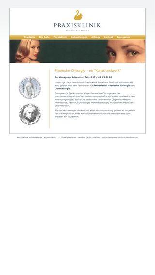 Mobile preview of plastischechirurgie-hamburg.de