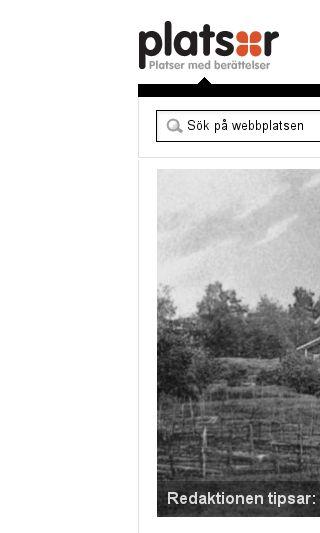 Mobile preview of platsr.se