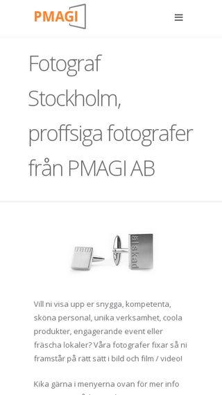 Mobile preview of pmagi.se
