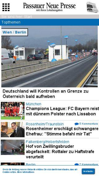Mobile preview of pnp.de