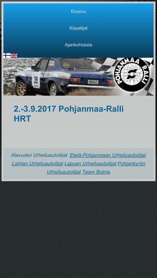Mobile preview of pohjanmaaralli.fi