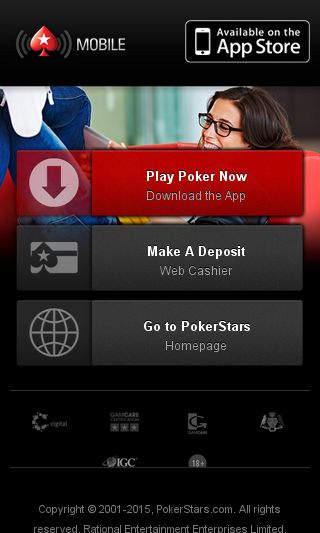 Mobile preview of pokerstars.se