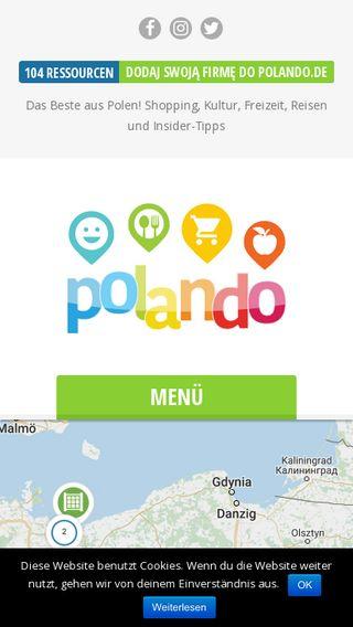 Mobile preview of polando.de