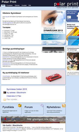 Mobile preview of polarprint.se