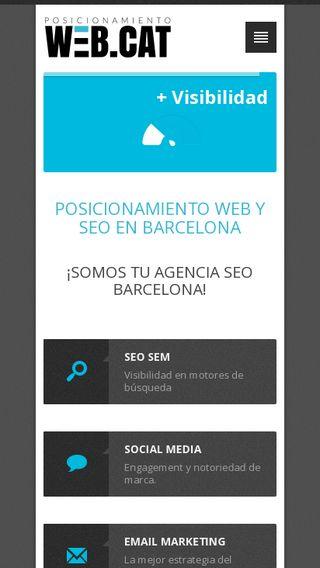 Mobile preview of posicionamientoweb.cat