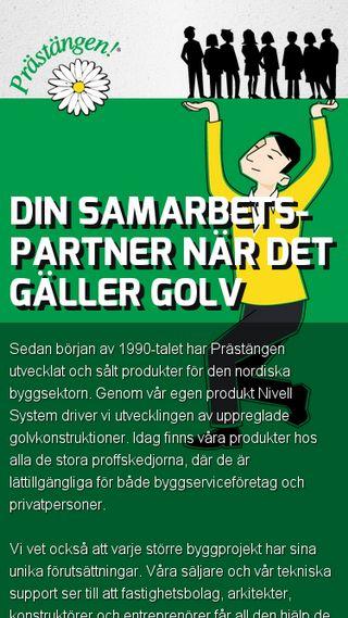 Mobile preview of prastangen.se