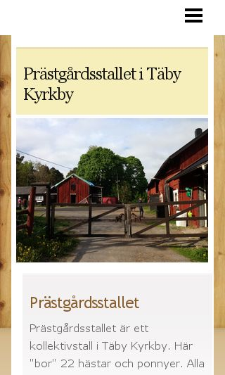 Mobile preview of prastgardsstallet.se