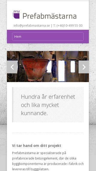 Mobile preview of prefabmastarna.se