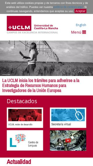 Mobile preview of previa.uclm.es