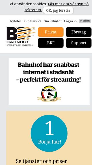 Mobile preview of privat.bahnhof.se