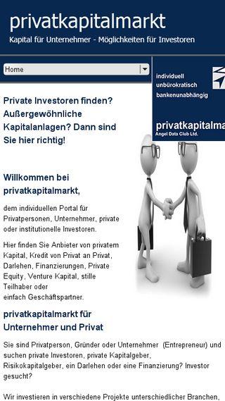 private geldgeber finden
