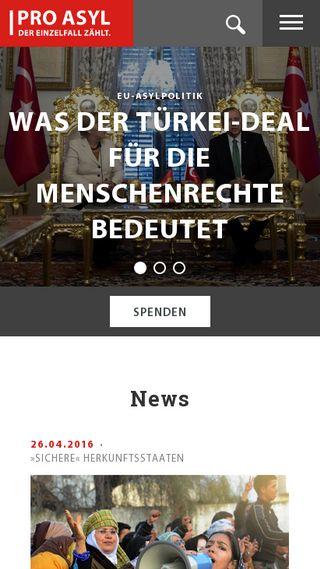 Mobile preview of fluechtlingsrat-bremen.de