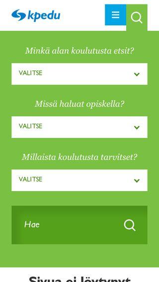 Mobile preview of projekti.kpedu.fi
