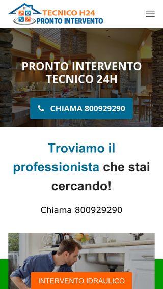 Mobile preview of prontointervento-tecnico24h.it