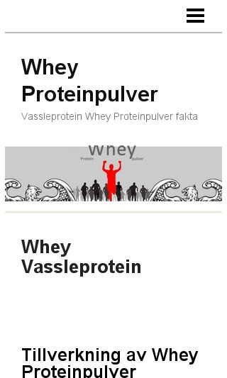 Mobile preview of proteinwhey.se