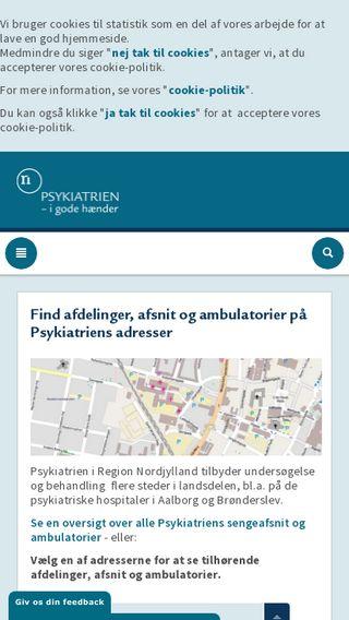 Mobile preview of nordjyskmad.dk