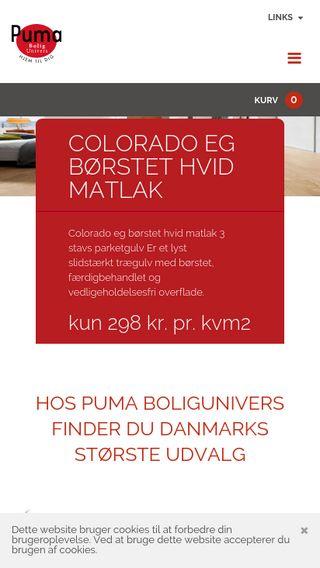 Mobile preview of puma-shop.dk