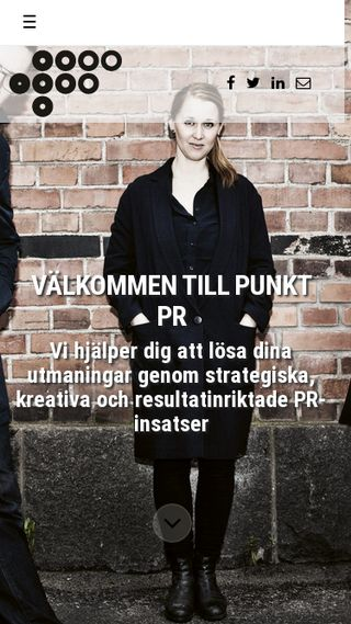 Mobile preview of punktpr.se